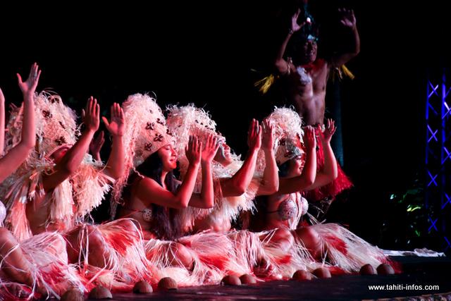 Temaeva a présenté sa danse sur le thème du rêve.