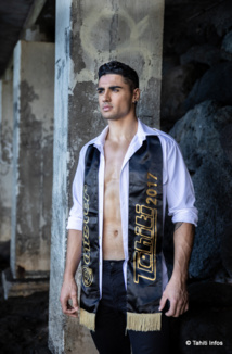 Kevin Richmond, Mister Tahiti 2017, va tenter de décrocher le titre de Mister Grand International 2018.