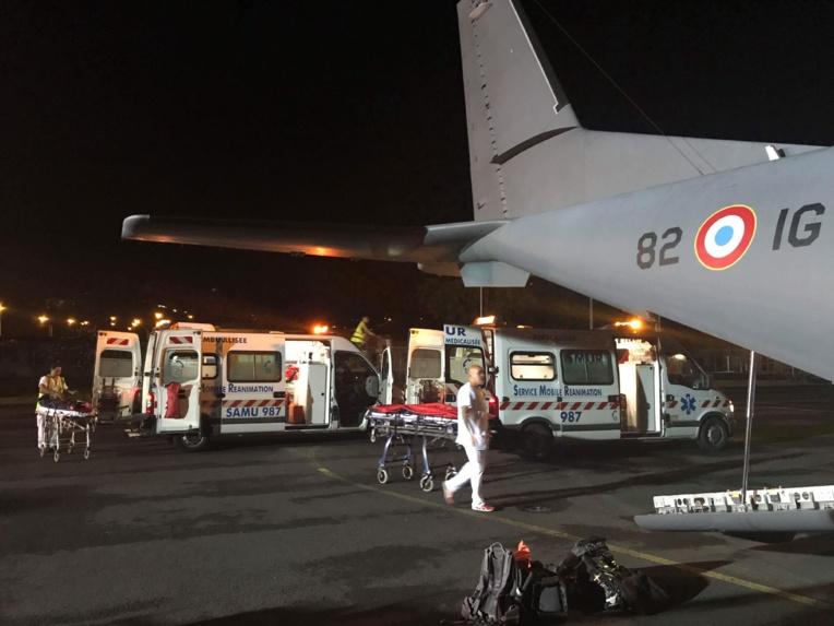 Forces armées : 3000 kilomètres et 8 heures de vols pour un quadruple evasan dans les Tuamotu