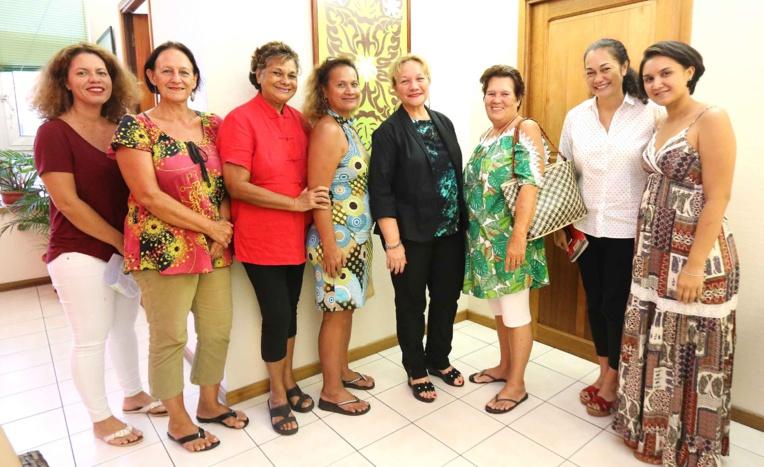 La ministre de la Famille et des Solidarités reçoit l'UFFO-Polynésie