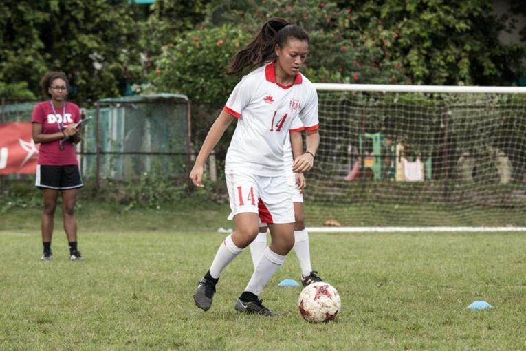 Kiani Wong évolue désormais en sport-études en métropole