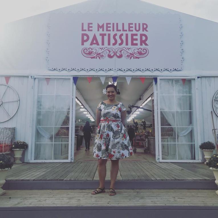 """Maheata candidate de l'émission """"meilleur pâtissier 2018"""" sur M6"""