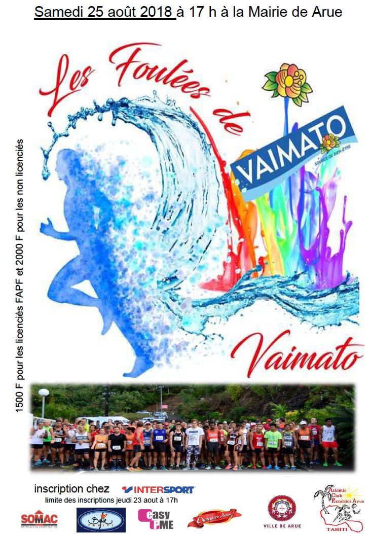 Course à pied - Les Foulées de Vaimato : En mémoire de Lionel Vicente