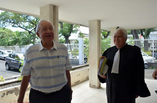 Justice : Gaston Flosse condamné à quitter la maison de Erima