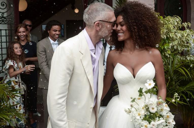 Pays basque: Vincent Cassel et Tina Kunakey se sont mariés