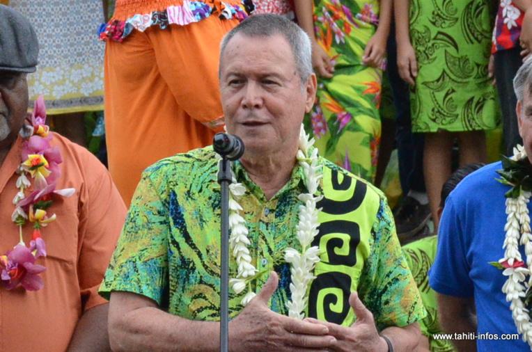 Le représentant maire de Punaauia est décédé dimanche d'une hémorragie cérébrale.