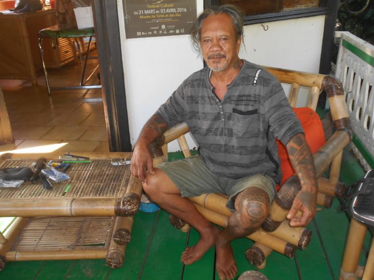 Aujourd'hui, Purotu exerce son art à son domicile de Pihaena, Paopao à Moorea.