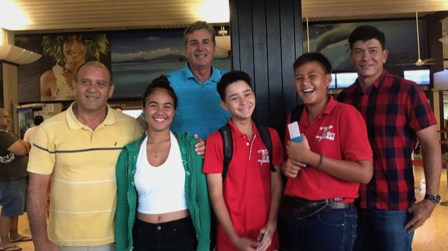 Bilan positif pour la délégation tahitienne