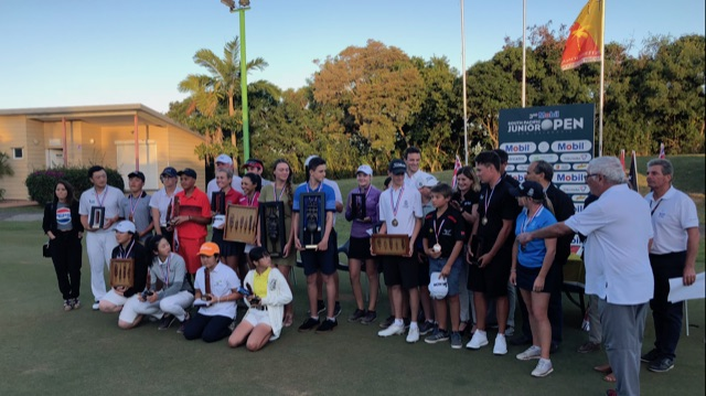 Le South Pacific Junior Open prend de l'importance d'année en année