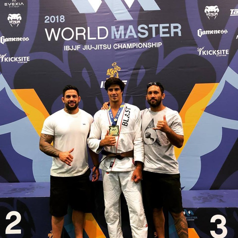 Jiu Jitsu Brésilien - Worlds IBJJF : Manatea Couraud champion du monde