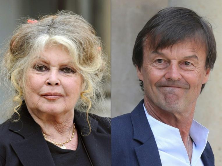 """Bardot """"ravie"""" du départ de Hulot, """"furieuse"""" contre Macron"""