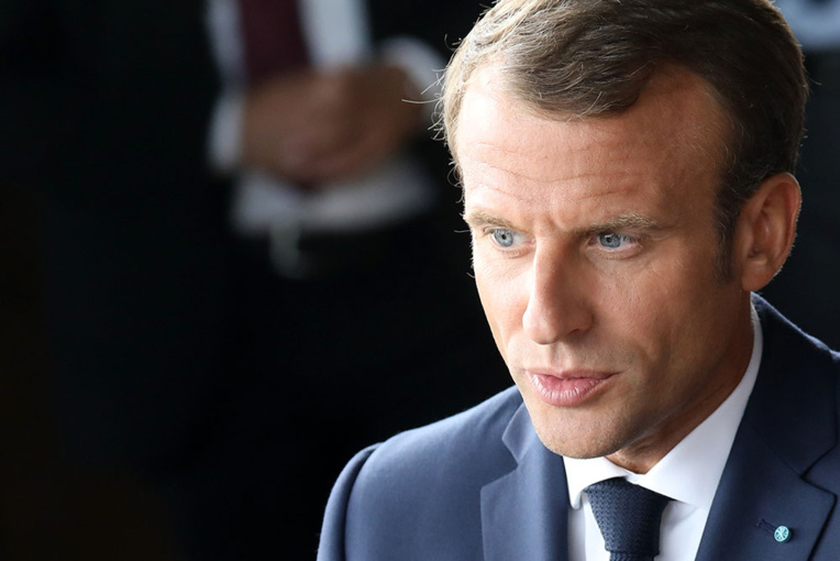 """A Copenhague, Macron fait l'éloge de la """"flexisécurité"""""""