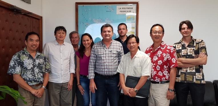 Réunion entre le ministre de l'Equipement et le Cluster maritime