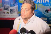 Lionel Teihotu, président de la fédération tahitienne de surf