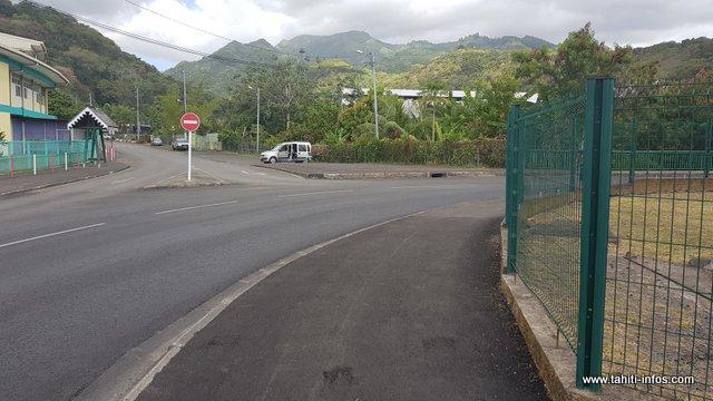Le lieu où s'est déroulé l'attaque.