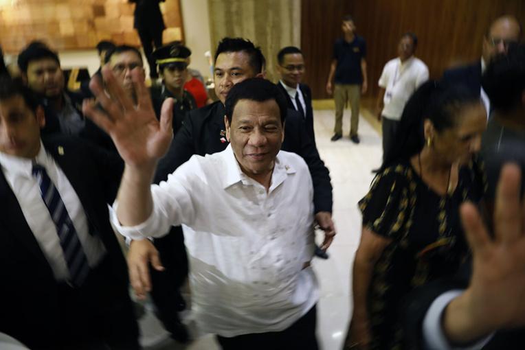 Israël: visite historique de Duterte, avec de possibles achats d'armes à la clé