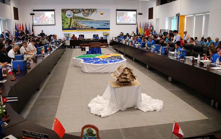 Sommet du Pacifique: Nauru accuse le délégué chinois d'insolence