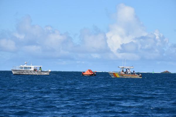 Sarex : un exercice de sauvetage en mer en conditions réelles