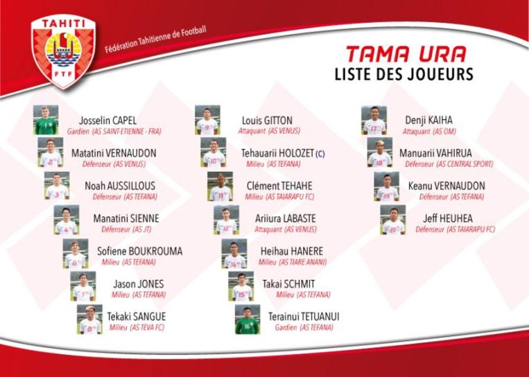 Football - Championnat OFC U-16 : Les Tama Ura rêvent également du mondial