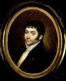 L'un des très rares portraits de Peter Dillon, alors au faîte de sa gloire en Europe.