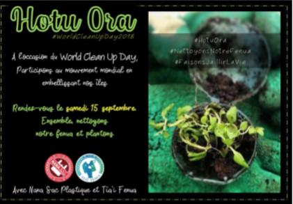 Clean up day : Opération grand nettoyage et plantation