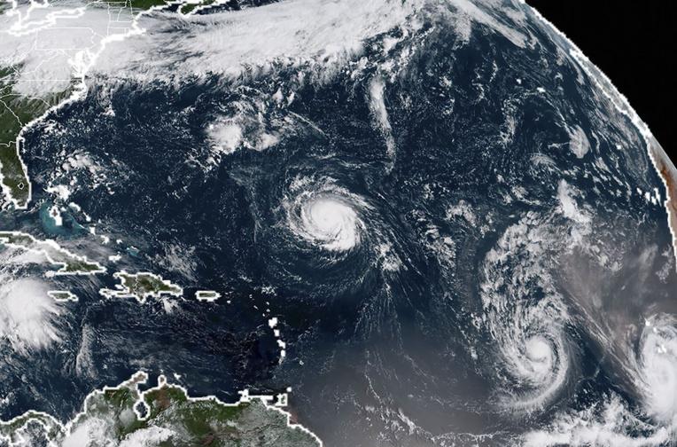 """USA: la tempête Florence devrait devenir un ouragan """"extrêmement dangereux"""""""