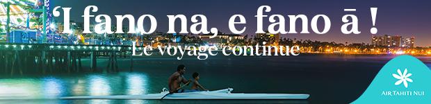 Va'a Marathon - Catalina Race : La victoire pour Team Teva et Air Tahiti