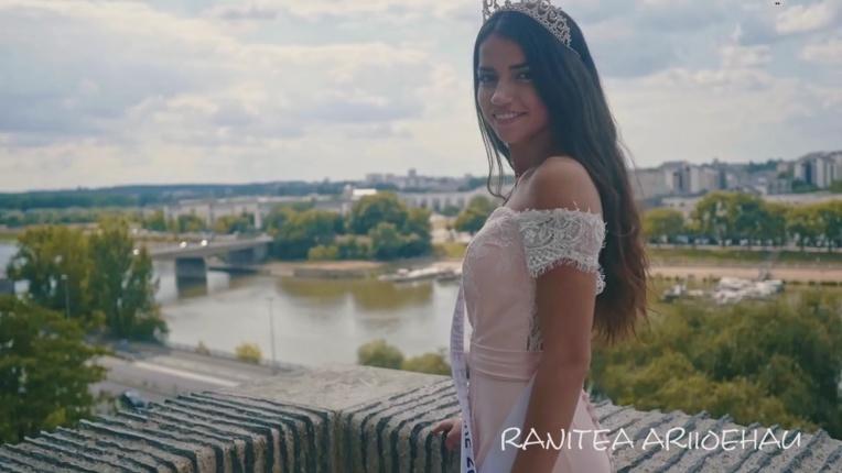 Une Tahitienne à l'élection de Miss 15/17 Pays de la Loire 2018