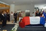 Obsèques de Jacques Lafleur à Nouméa