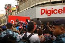 Le magasin Digicel à FIJI