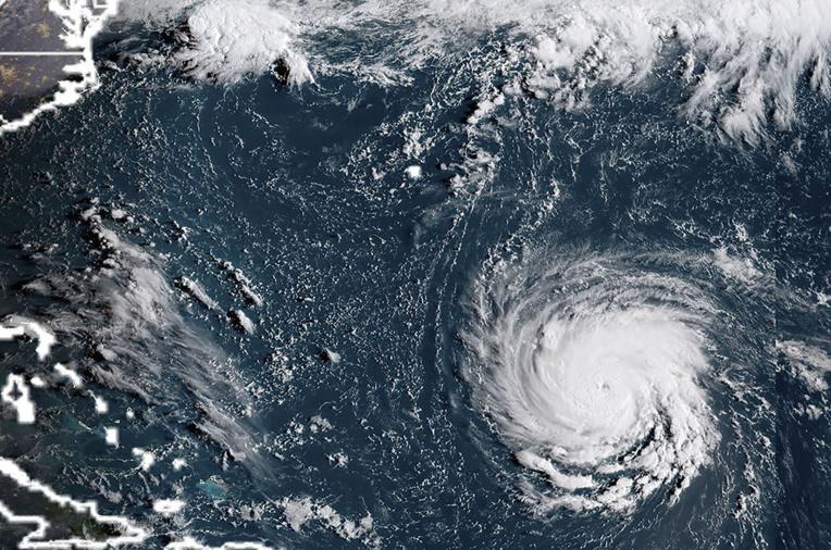 Ouragan Florence: alerte à la montée des eaux sur la côte est américaine