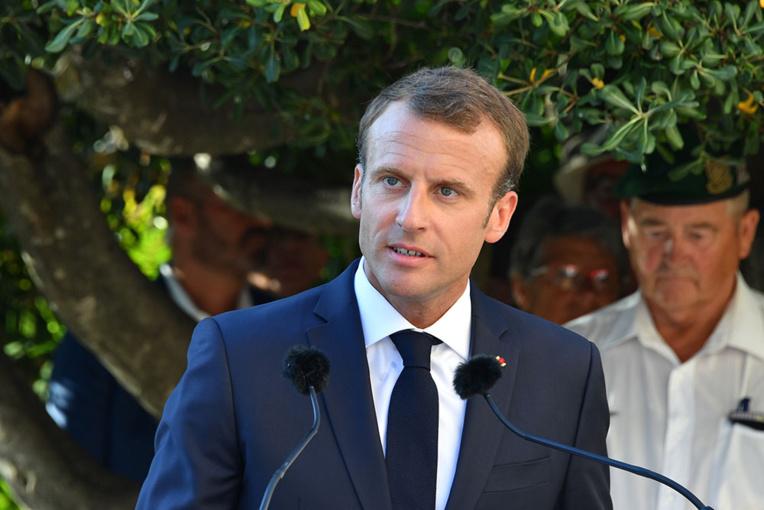 La popularité de Macron en chute libre (-12) (sondage)