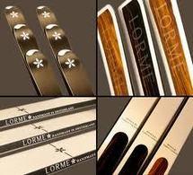 Sertis de diamants ou en bois précieux, des skis haute couture pour clients fortunés