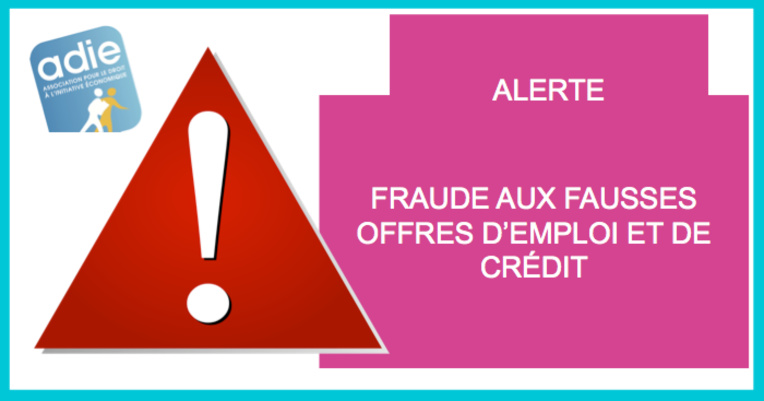 Fraude aux fausses offres d'emploi et de crédit : l'Adie Polynésie appelle à la vigilance