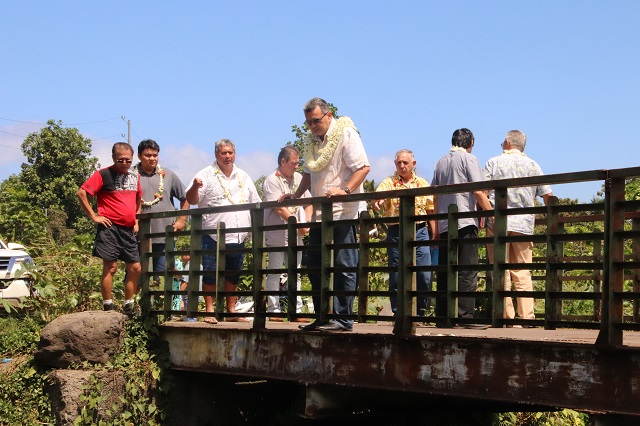 Rivières de Taharuu, Temarua et Amo : le maire fait part de ses inquiétudes en cas d'intempéries