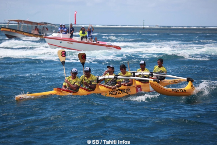 Va'a V6 - Tetiaroa Royal Race : Shell Va'a remporte le choc des titans