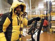 L'aventure arctique d'Alan et Julien débute dans un frigo breton