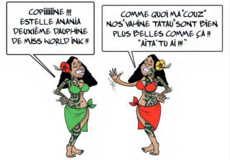 """"""" Estelle Anania deuxième dauphine """" par Munoz"""