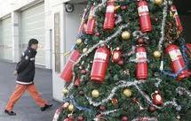 Un arbre de Noël, nouveau sujet de tensions entre les deux Corées