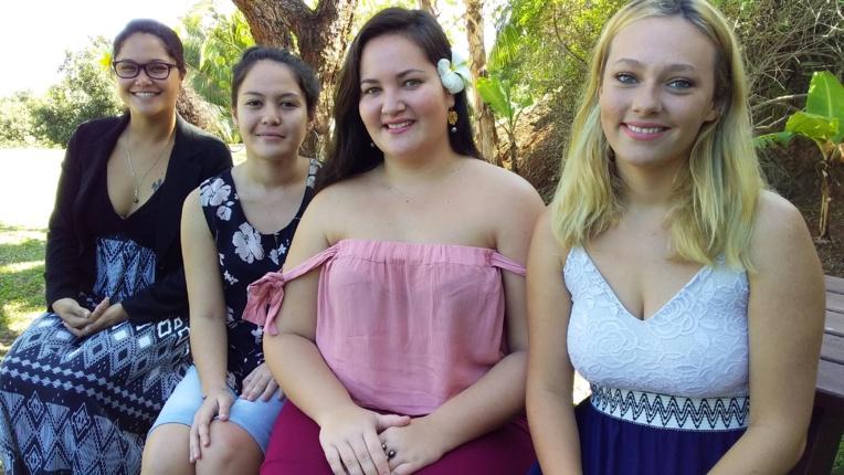 Anuata Tetuanui, Marianne Ropati, Mehau Colombani et Juliette Tissot font partie des majors qui seront récompensées le 27 septembre prochain.