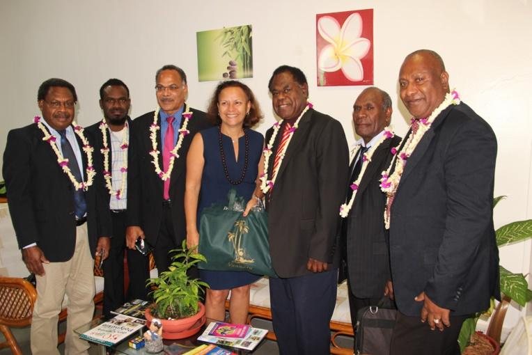 La ministre de l'Education rencontre le président du Parlement ni-vanuatu