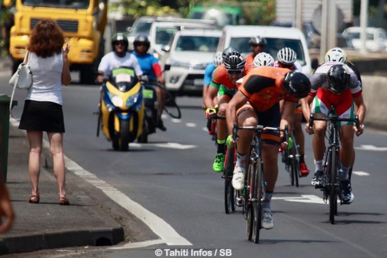 Les coureurs ont dû boucler un parcours de 135 km