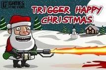 Deux Pères Noël volent le fusil d'un garde royal suédois