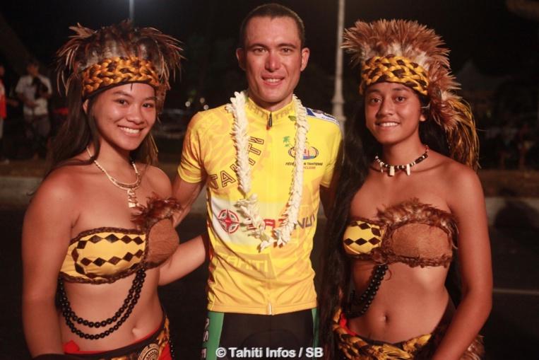 Taruia Krainer, grand vainqueur du Tour Tahiit Nui 2018