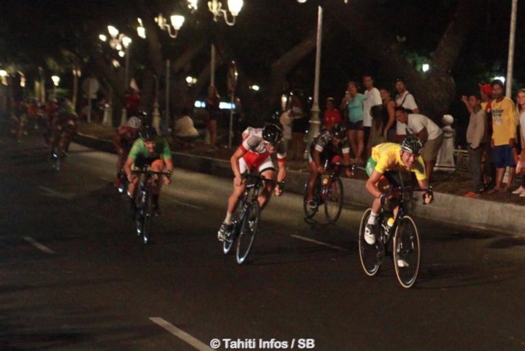 Une victoire au sprint pour Taruia Krainer