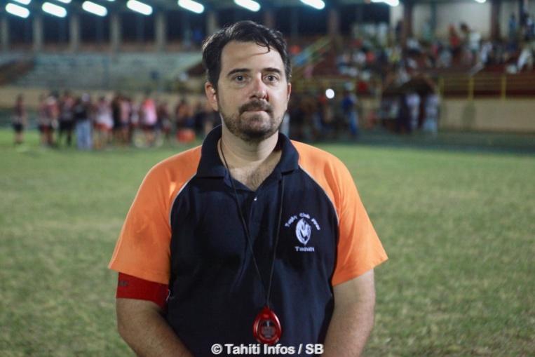 Teiki Dubois, manager du RC Pirae