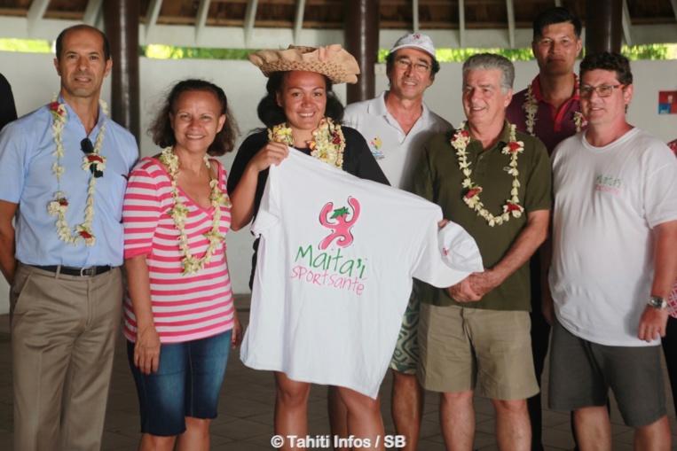 Anne-Caroline Graffe est la marraine du projet Maitai Sport Santé qui vient d'être initié