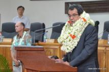 Le président de la Polynésie française et ses compétences