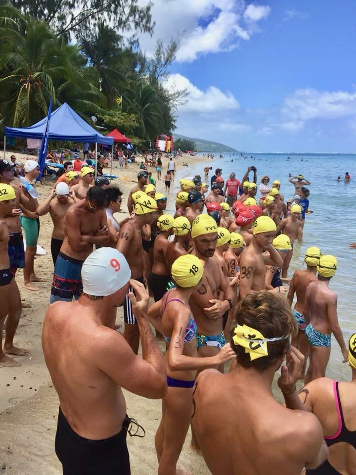 La nage en eau libre, une évidence en Polynésie