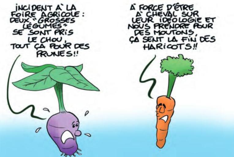 """"""" La foire agricole """" vu par Munoz"""